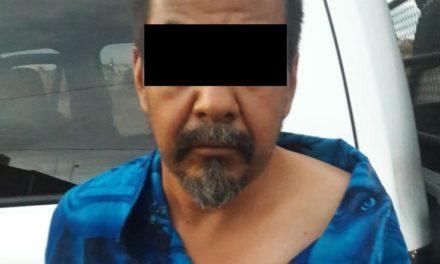 Quincuagenario presuntamente dedicado a la venta y distribución de enervante, fue detenido en Calvillo