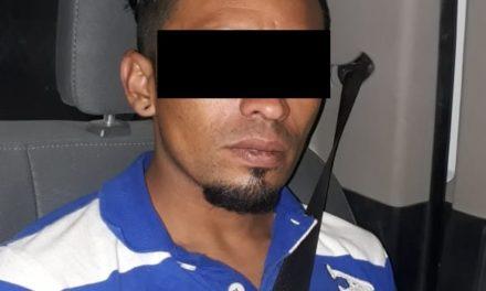 Sujeto en posesión de enervantes, fue detenido en el municipio de Pabellón de Arteaga