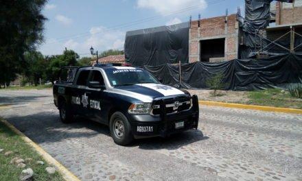 Elementos de la SSPE capturaron a una pareja de presuntos distribuidores de narcóticos que operaba en la comunidad de Peñuelas