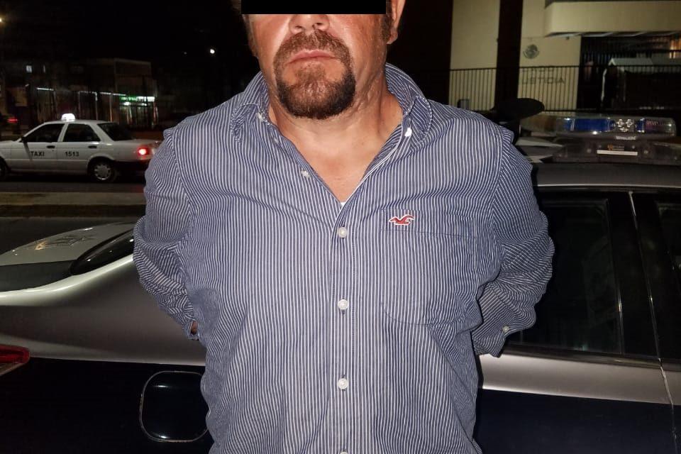 Cuenta con una orden de reaprehensión vigente y fue detenido en Calvillo