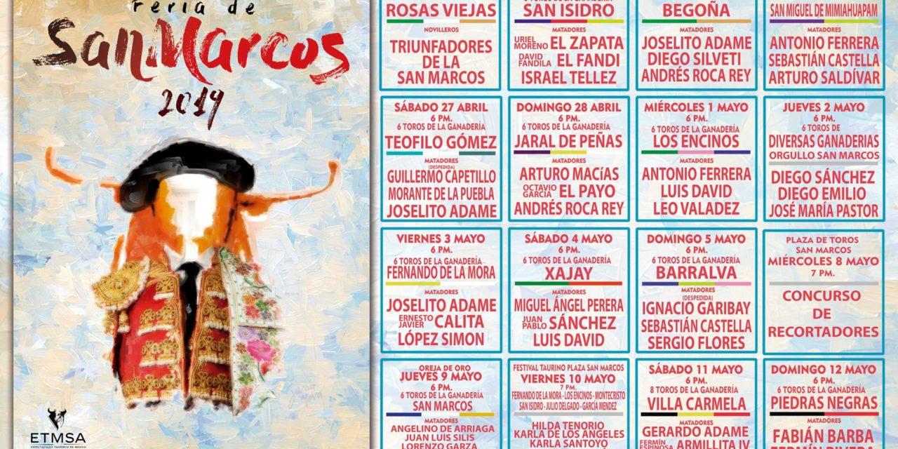 Serial Taurino San Marcos 2019 Aguascalientes