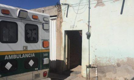 Atienden elementos de la SSP y de la Policía Municipal de Rincón de Romos reporte de autoprivación de la vida