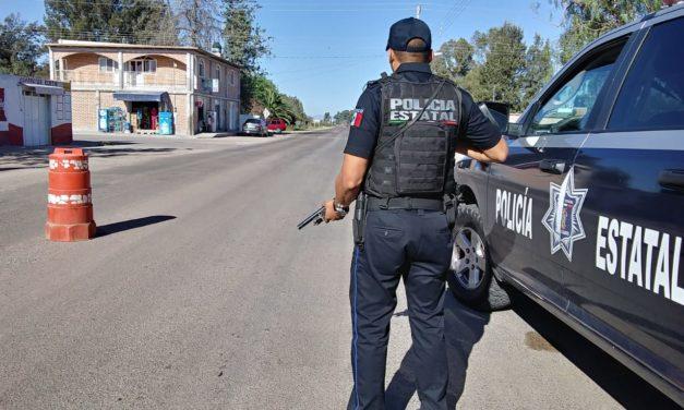 Conducía vehículo con placas sobrepuestas y fue detenido en puesto de seguridad