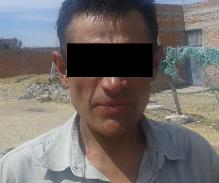 Contaba con dos órdenes de aprehensión y fue detenido en el municipio de Jesús María