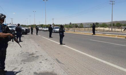 Se refuerza la seguridad en los límites con Zacatecas