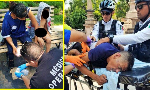 ¡Sujeto le rocía a su ex pareja y al hijo ácido muriático y luego se suicidó ingiriendo el liquido en Aguascalientes!