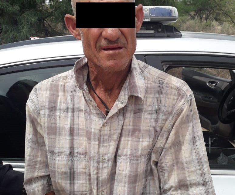 Por el delito de portación de arma de fuego fue detenido en el municipio de Calvillo