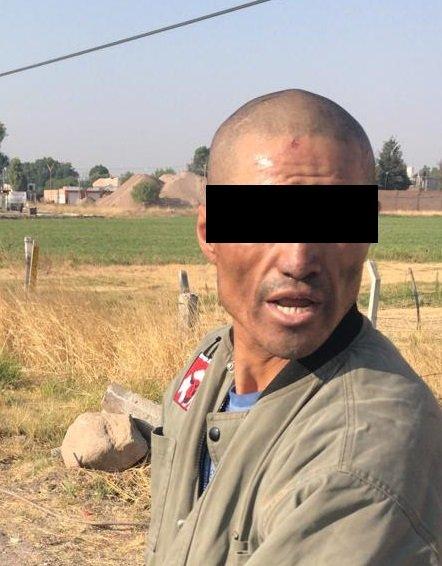 Por robo de herramienta y material para la construcción fue detenido en Pabellón de Arteaga
