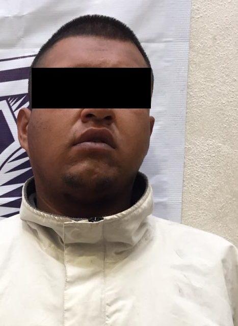 Por robo oportunista fue detenido en el municipio de Tepezalá