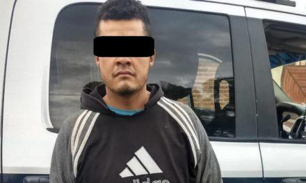 Fue capturado un blanco prioritario, contaba con una orden de aprehensión por robo