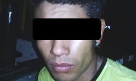 Fue detenido un sujeto sorprendido infraganti cuando saqueaba un domicilio
