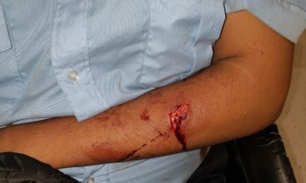 Dos sujetos que provocaron lesiones a un guardia de seguridad fueron detenidos