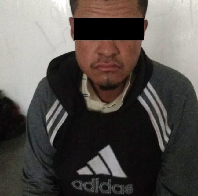 Sujeto identificado como  blanco prioritario y que contaba con una orden de aprensión vigente fue detenido en Rincón de Romos