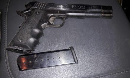 Menor de 15 años de edad, portaba un arma de fuego y fue detenido en el municipio de Jesús María