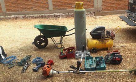 Fueron recuperados objetos productos de un robo domiciliario