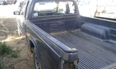 Fue recuperado un vehículo que contaba con reporte de robo