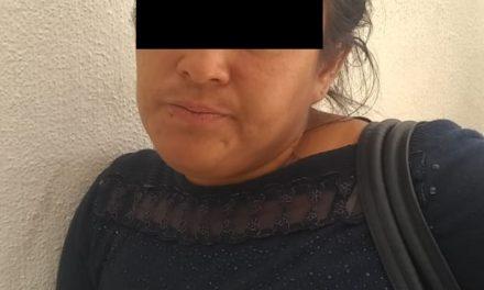 """Cinco mujeres presuntas integrantes de la banda """"Las Chimichangas"""" dedicada al robo fardero fueron detenidas en Rincón de Romos"""