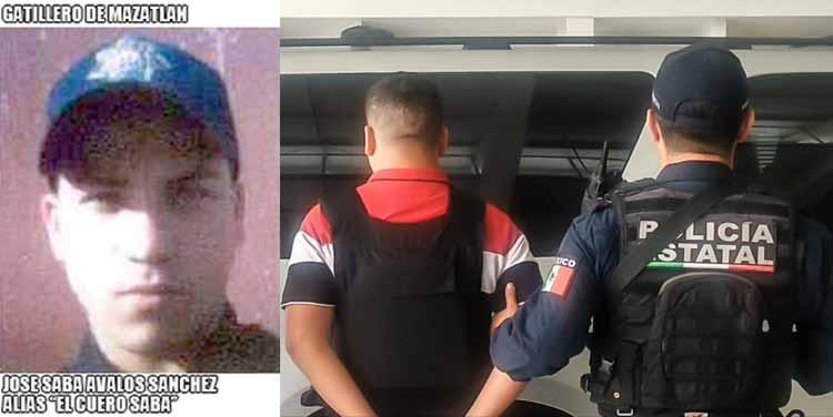 """¡Capturan a """"El Güero Saba"""", peligroso gatillero y secuestrador de Sinaloa!"""