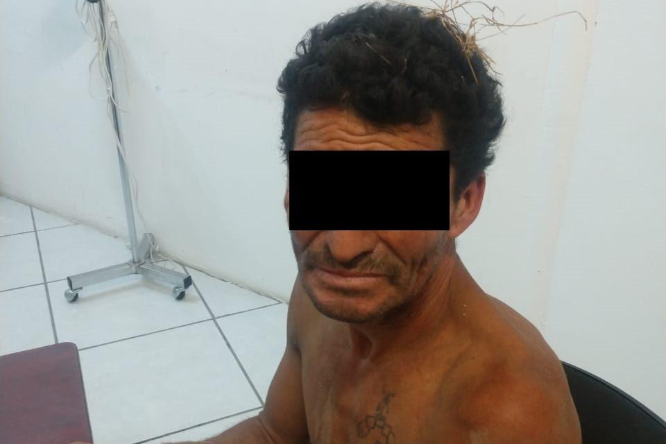 Presunto ladrón fue detenido en la comunidad de Tepetates, Jesús María