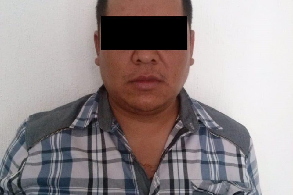 Contaba con dos órdenes de aprehensión vigentes y fue detenido en el municipio de Pabellón de Arteaga