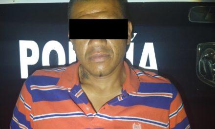 En el municipio de Pabellón de Arteaga fue detenido un individuo con droga crystal