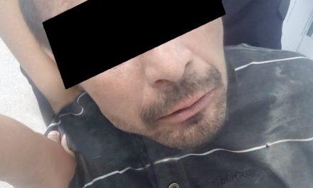 Presunto ladrón agredió a los oficiales con un hacha y fue detenido en el municipio de Jesús María