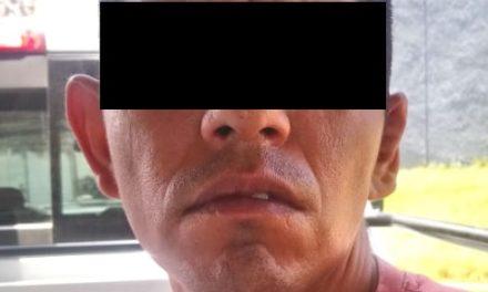 Contaba con una orden de aprehensión vigente en Zacatecas y fue detenido en el municipio de Rincón de Romos