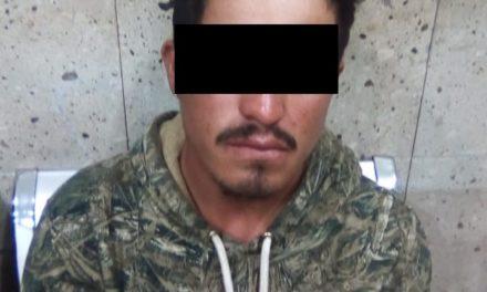 Motociclista fue detenido con droga crystal en el municipio de San José de Gracia