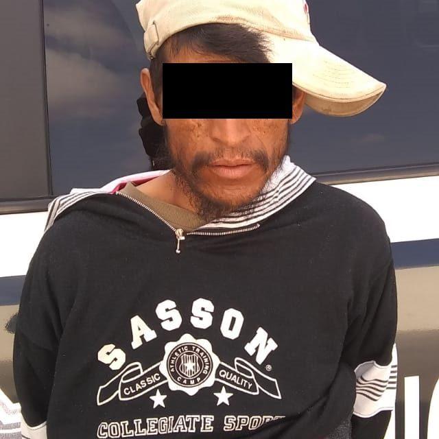 En el municipio de Pabellón de Arteaga fue detenido sujeto en posesión de droga crystal