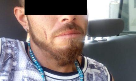 """Sujeto conocido como """"El Lobo"""" fue detenido con droga en el municipio de San José de Gracia"""