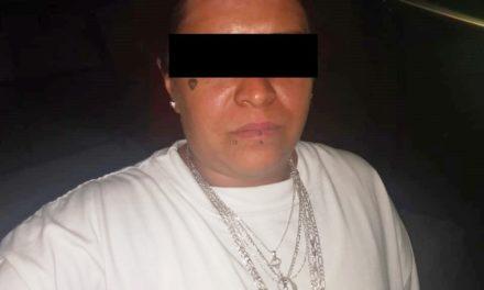 Presunta distribuidora de enervantes fue detenida en el municipio de Jesús María