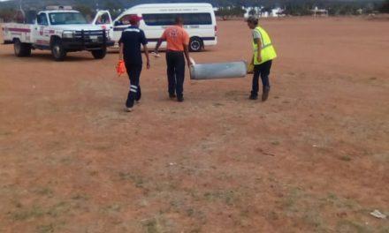 Bomberos atienden dos reportes de fuga de gas en el municipio de Rincón de Romos