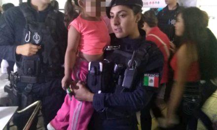 Policías localizan a menor que se encontraba extraviada en el municipio de Jesús María