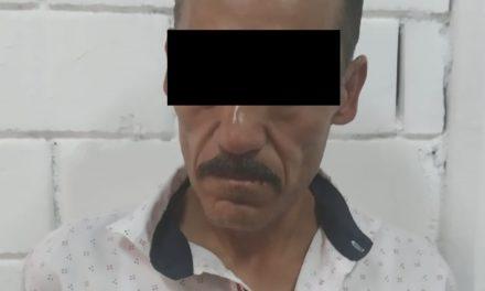 Tras haber sido señalado por robo en agravio de un establecimiento, fue detenido en Calvillo