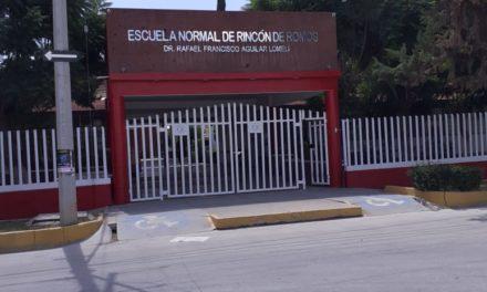 Se atiende reporte de persona sin vida en el interior de un plantel educativo en Rincón de Romos