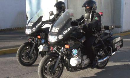 Tripulaba motocicleta con placas sobrepuestas y fue detenido por elementos de la SSPE