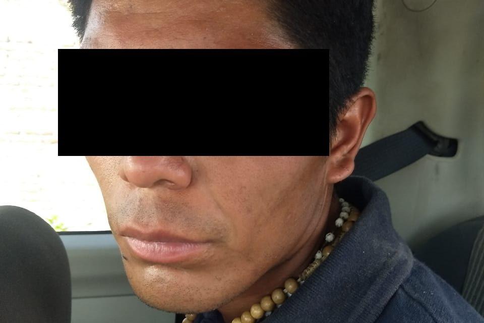 Por allanamiento de morada y robo sujeto fue detenido en el municipio de Jesús María