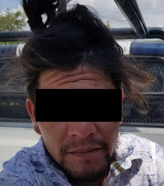 """Cae sujeto conocido con el apodo de """"El Cholo"""" con droga crystal y marihuana en el municipio de Rincón de Romos"""