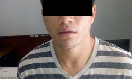 Sujeto en posesión de droga fue detenido en el municipio de Asientos
