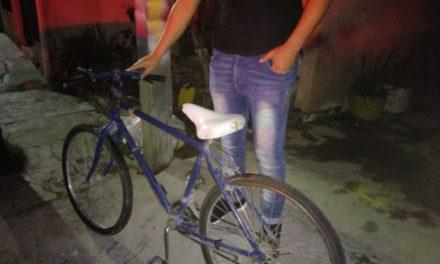 Quinceañero fue detenido por robo de bicicleta en el municipio de Rincón de Romos
