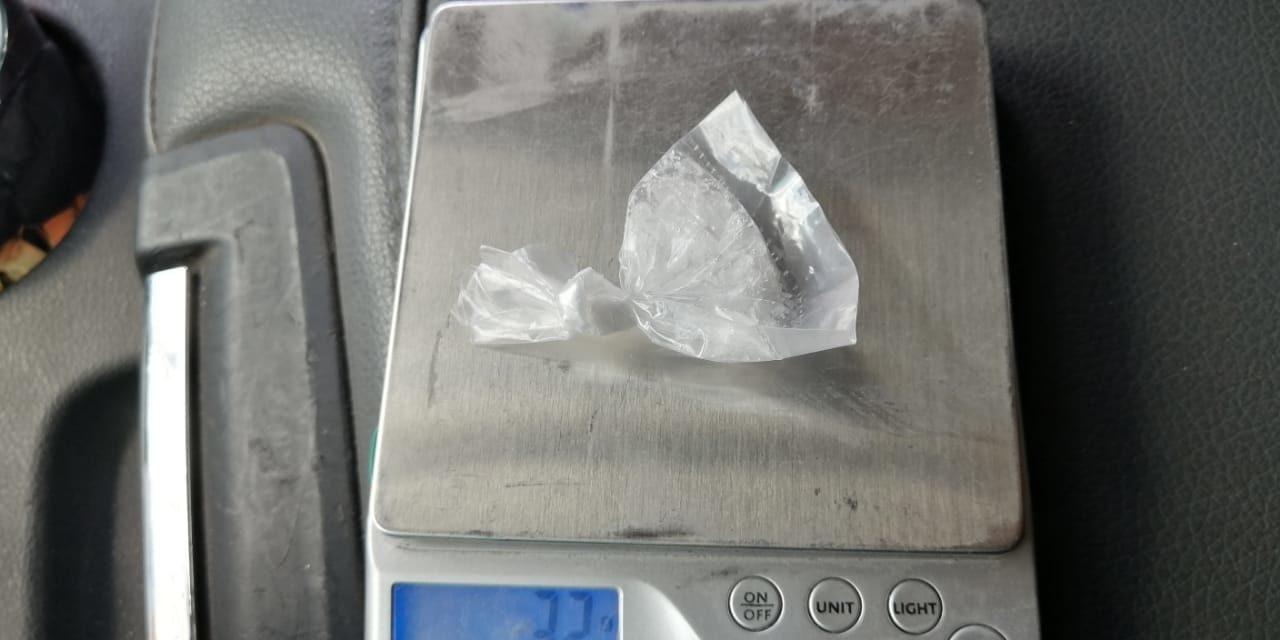 Zacatecano fue detenido con droga crystal en el municipio de Jesús María