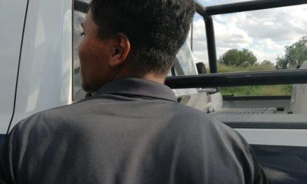 Sujeto en posesión de droga, fue detenido en el municipio de Pabellón de Arteaga
