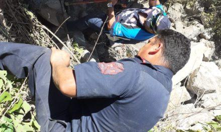 Se atiende reporte de hecho de tránsito terrestre en San José de Gracia