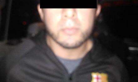 Sujeto señalado por violencia intrafamiliar, fue detenido en el municipio de Jesús María