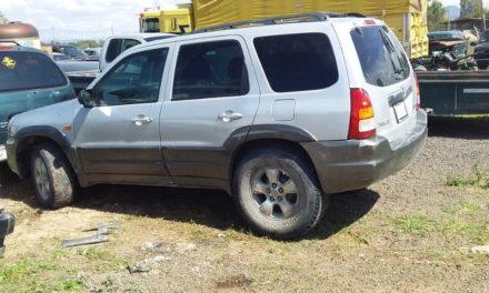Tres vehículos que contaban con reporte de robo, fueron recuperados en distintos puntos de la entidad