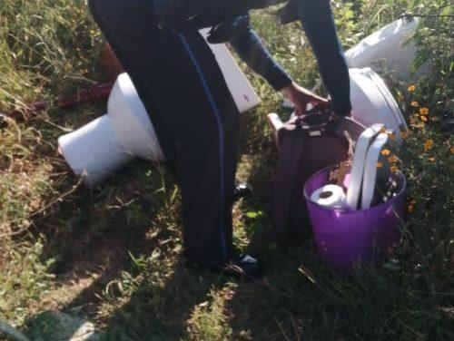 Tras operativo, fueron recuperados artículos reportados como robados en Pabellón de Arteaga