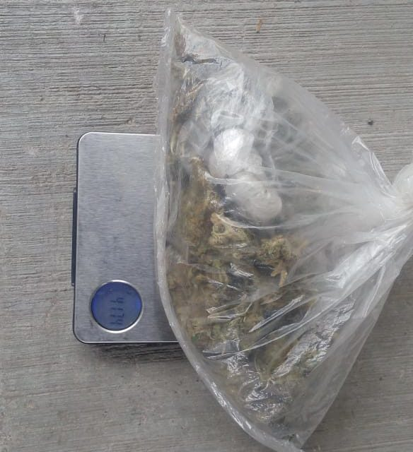 """Capturan a """"El Yuca"""" con más de 40 gramos de marihuana"""