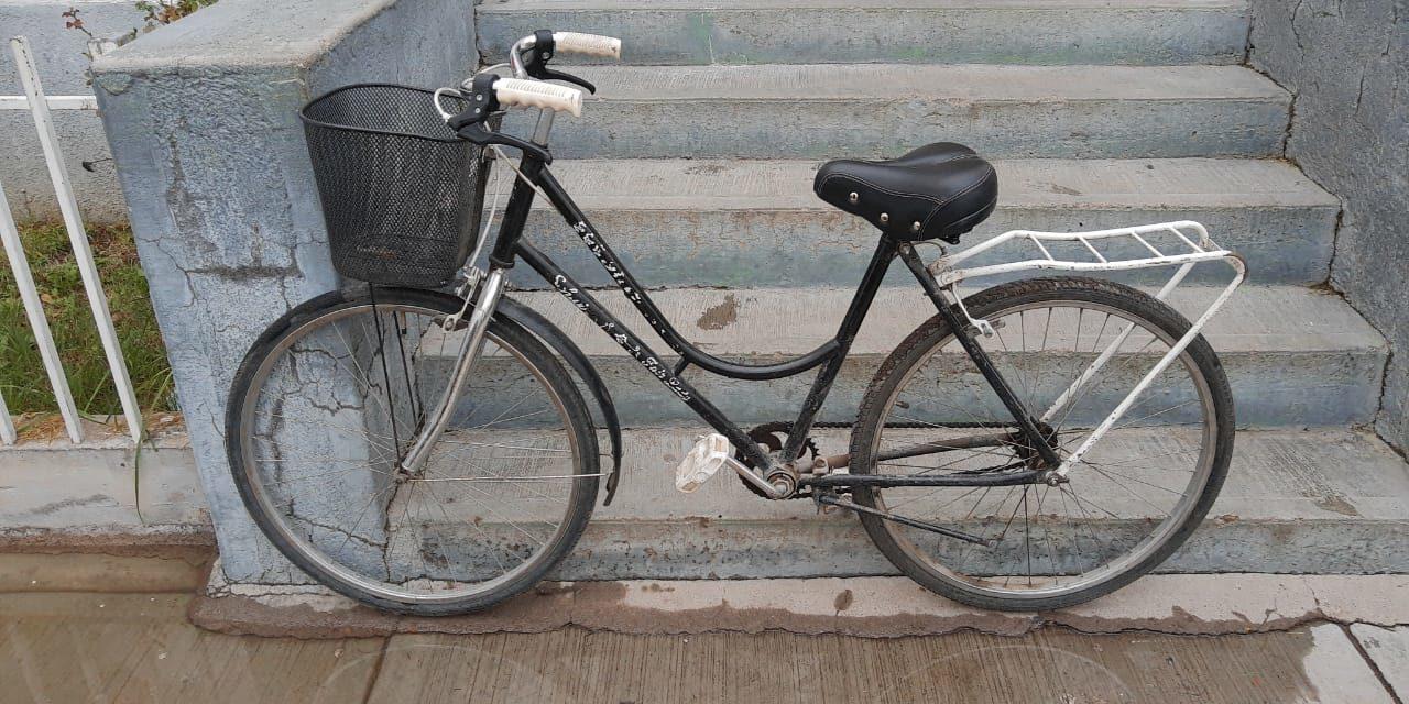 Tras haber sido señalado por robo de una bicicleta, fue detenido en el municipio de Rincón de Romos