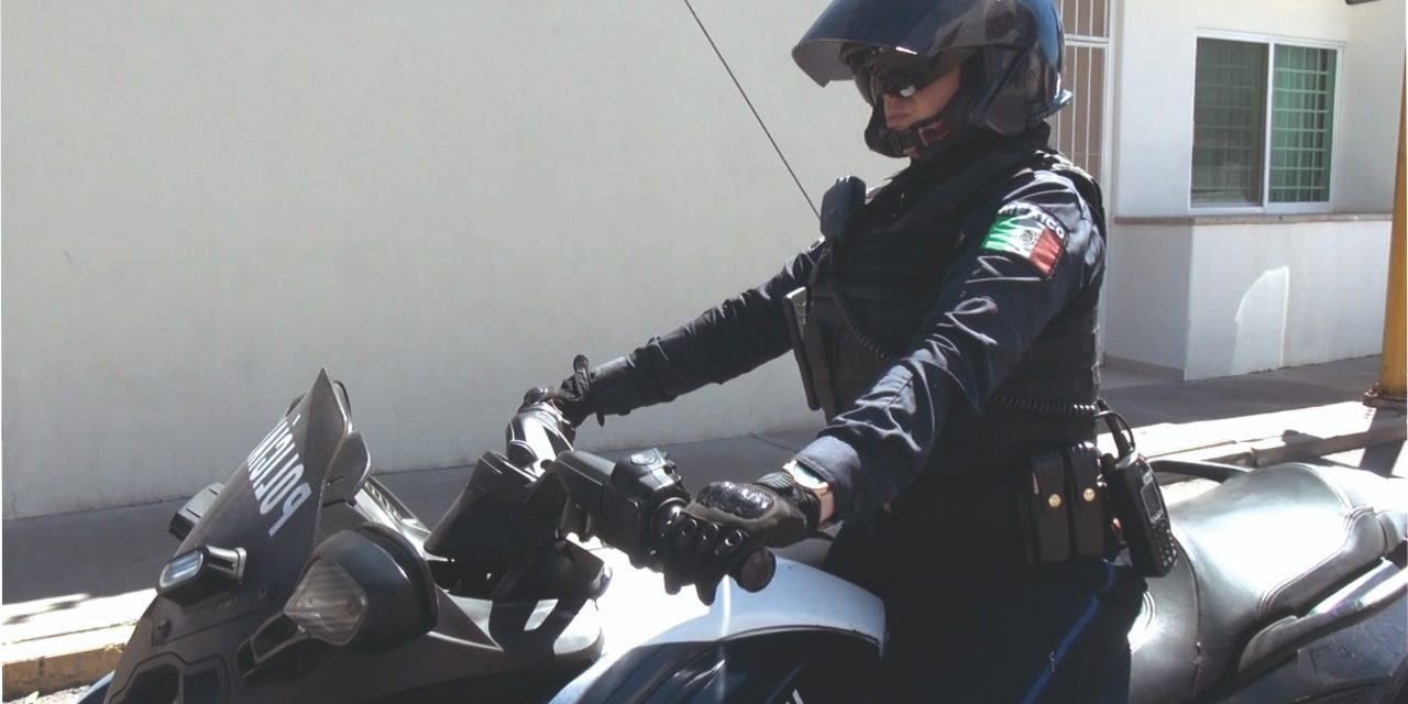 Detienen elementos de la SSPE a sujeto que conducía motocicleta con reporte de robo