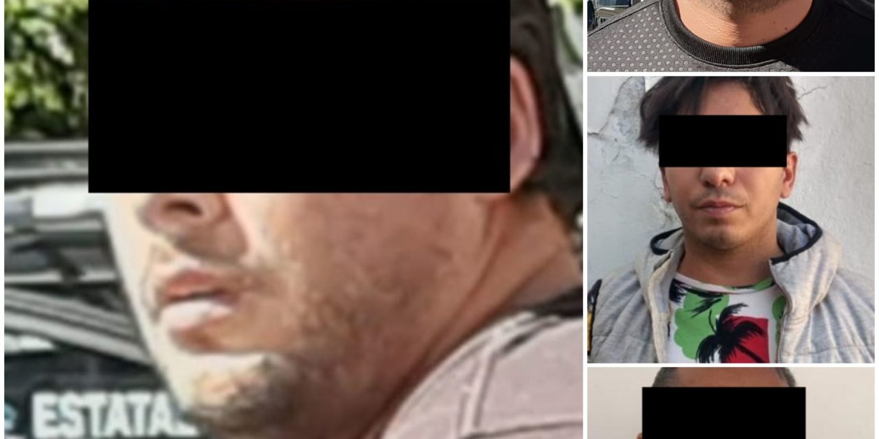 """Policía Estatal desmantela banda de """"Los Rolex"""", 3 eran originarios de Venezuela"""